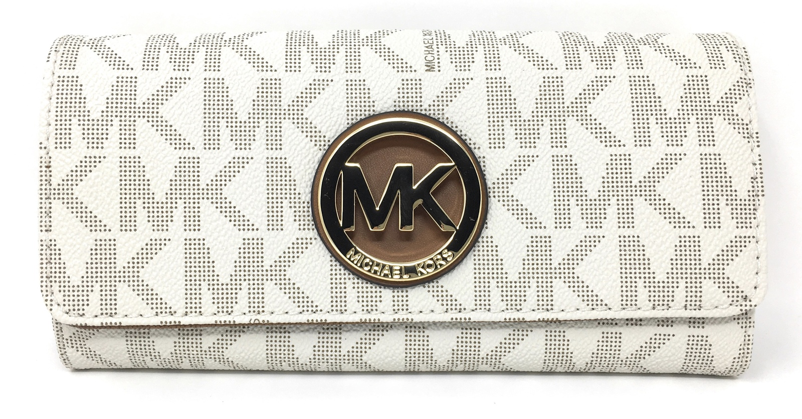 e0b687a852e85d Michael Kors Signature PVC Fulton Flap and 50 similar items. Img 2133