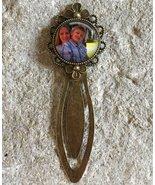 Personalised Photo Custom Glass Dome Round Cabochon Flower Bookmark Gift UK - $9.99