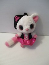 "YooHoo & Friends Aurora Bush Baby Pirate w/Noise Plush 6"" Pink & White - $8.91"