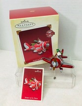 2005 Spirit of St Nick Magic Hallmark Christmas Tree Ornament MIB Price Tag - $46.04