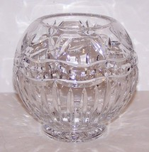"STUNNING FIFTH AVENUE CRYSTAL FAIRMONT 5 3/4"" ROSE BOWL VASE - $37.86"
