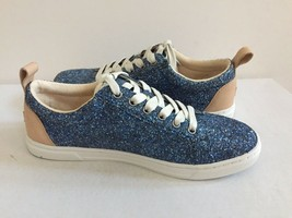 UGG KARINE CHUNKY GLITTER BLUE MULTI LACE UP SNEAKERS US 7 / EU 38 / UK 5.5 NIB image 2