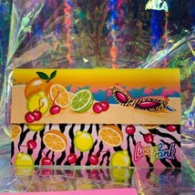 Vintage Lisa Frank Single Letter Set Stationery FABULOUS FRUIT Postalette &sheet image 2