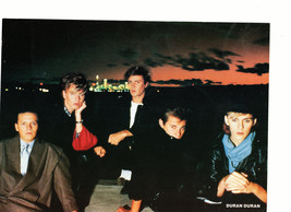 Duran Duran teen magazine pinup clipping Outside on the roof Tiger Beat