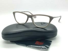 NEW Ray-Ban Optical RB 7042 5469 Beige Eyeglasses Frames 52-14-140MM - $67.65