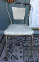 VTG Chrome Atomic Mid Century Modern Kitchen Chair - $41.58