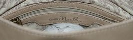 Simply Noelle Brand Tan Taupe Color Floral Leaf Pattern Womens Purse image 7