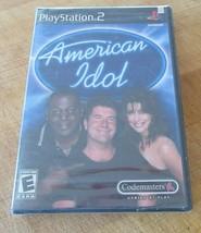 American Idol (Sony PlayStation 2, 2003) Brand New - $9.89