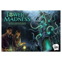 Tower of Madness Marble Multi-Player Board Game Smirk & Dagger New - $42.06