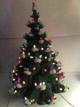 "Atlantic Mold Vintage Ceramic 24"" Christmas Tree Lighted Holiday Decor M... - $197.99"