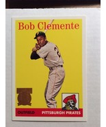 1998 Topps Card # 52 Bob Clemente 25th Anniversary Gem Mint PSA - $9.95