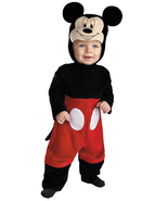 Mickey Mouse , Infant Halloween Costume , 6 TO 12 MONTHS , Free Shipping - $40.00