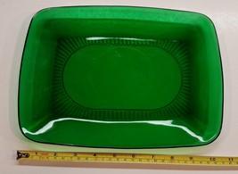 Vintage Anchor Hocking Charm Forest Green Platter - $29.99