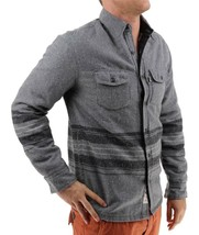 NEW LEVI'S MEN'S SHAN CLASSIC LONG SLEEVE STRIPED WOOL SHIRT CASTLEROCK-3LDLW205 image 2