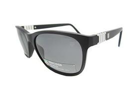 New Tag Heuer Sunglasses Polarized Legend TH9382 101 Black Gray - $178.18