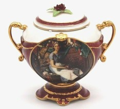 Ardleigh Elliott Beautiful Dreamer Porcelain Music Box Dreaming in The A... - $34.20