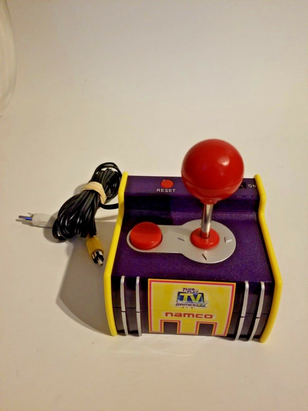 plug n play tv games (5 namco old school games)