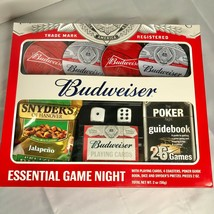 Budweiser Game Night Pack NIB Family Fun Sports Fans - $15.59