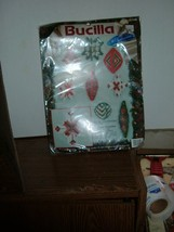 Bucilla  361148 Plastic Canvas Yuletide Treasures  ornaments  1991 - $10.84