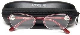 NEW Vogue VO3944-B 717-S Matte Burgundy WOMEN EYEGLASSES FRAME 52-18-135... - $64.33
