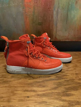 Nike Air Force 1 SF AF1 Mid Urban Utility Shoes SZ 10 Burnt Orange With ... - $68.97