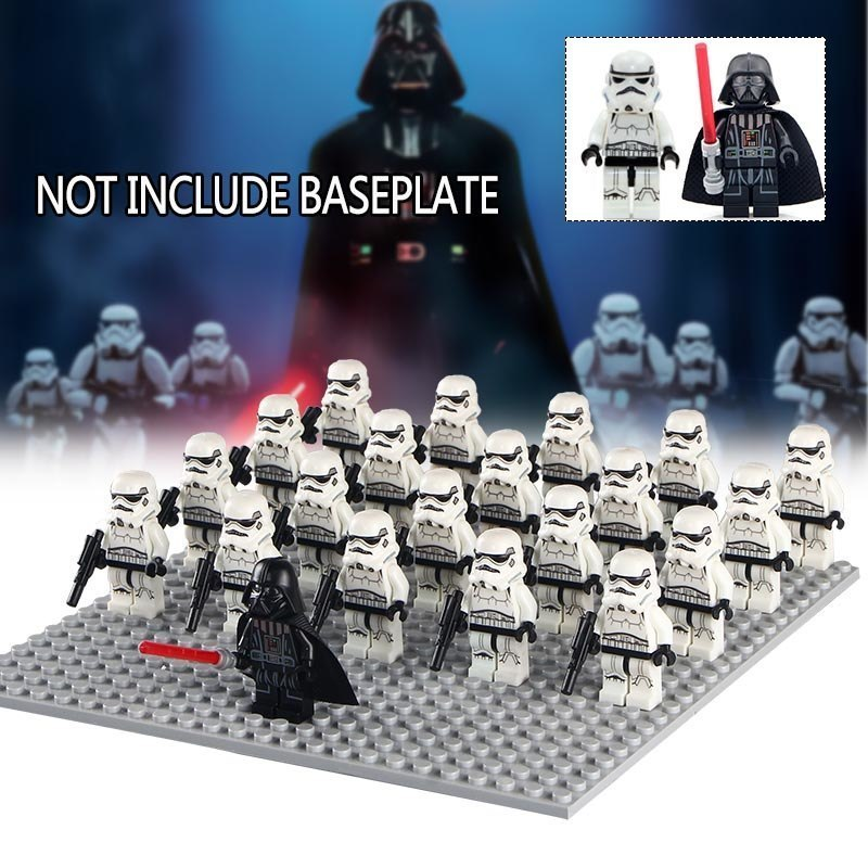 Primary image for 21pcs/set Star Wars A New Hope Darth Vader and Stormtroopers army Minifigures