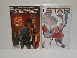 STRIKEFORCE #1 + STAR #1 - MARVEL COMICS - FREE SHIPPING - $14.03