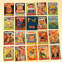 GARBAGE PAIL KIDS MIXED LOT trading cards 2004 topps 20 foil gold blue sticker 1 - $23.76