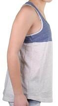 Bench Womens Blue Light Grey Unballoo Tank Top Sleeveless Vest BLGA2531 NWT image 2