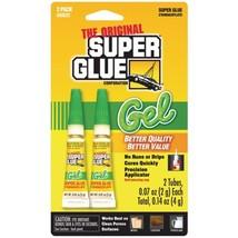 The Original SuperGlue SGG22-12 Thick-Gel Super Glue Tube (Double Pack) - $18.14