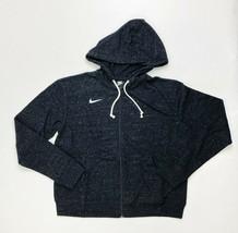 Nike Sportswear Vintage Full Zip Jacket Women's Medium Hoodie CN9402 Black - $49.49