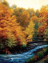 Autumn Stream 500 Piece Jigsaw Puzzle by SunsOut - $12.99