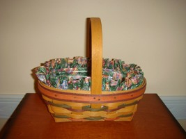 Longaberger 1997 Small Stained Easter Basket - $26.99