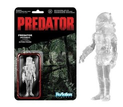 Predator Movie Clear Masked Predator ReAction Action Figure Funko MOC SEALED - $12.55
