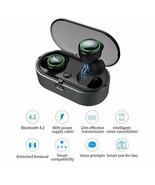 Bluetooth Wireless HD Earbuds In Ear Headphone Earphone Charging Case No... - $34.60