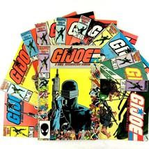 GI Joe Comic Book Lot 10 Issues Marvel 37 48 49 50 51 53 54 55 56 57 Snake Eyes - $24.70