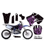 Dirt Bike Graphic Kit Decal Sticker Wrap For Yamaha YZ125 YZ250 96-01 RE... - $168.25