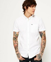 New Superdry Mens Ultimate Oxford Short Sleeve Shirt All Sizes - $43.38+