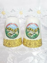 Vintage Mount Rushmore Souvenir Porcelain Salt and Pepper Shakers image 1