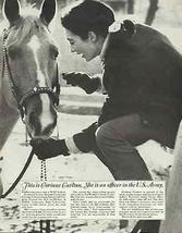 Horse Equestrian Vintage 1967 WAC Army Recruitment AD - $12.99