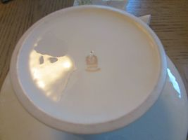 """LENOX CHINA FOOTED CAKE PLATE PLAZA COLLECTION 10.75"""" MADE IN USA  image 4"""