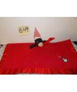 Blankets & Beyond Red Penguin Lovey Blanket, Christmas - $9.99