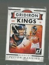 PEYTON MANNING  2015 PANINI-DONRUSS   Gridiron Kings   card #265   nrmt     - $5.89
