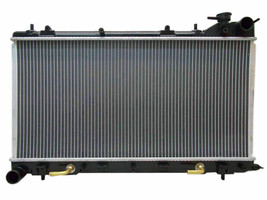 RADIATOR SU3010650 FOR 06 07 08 SUBARU FORESTER 2.5L H4 GAS DOHC TURBO ENGINE image 2
