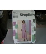 Simplicity 8401 Misses Top, Skirt & Pants Pattern - Size 20/22/24 Bust 4... - $6.92
