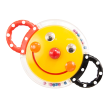 Sassy Rattle with Mirror, Smiley Face  - $15.99