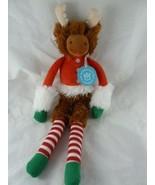 "Twiggies Moose Christmas Plush 18"" Manhattan Toy Company Stuffed Animal NWT - $8.90"