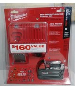 Milwaukee 48-59-1813 M18 18V Battery with Multi Voltage Charger Starter Kit - $76.97
