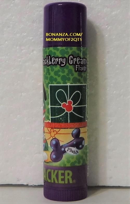 Lip Smacker BLACKBERRY CREAM Pluto Disney Lip Balm Gloss Stick Mistletoe Kisses