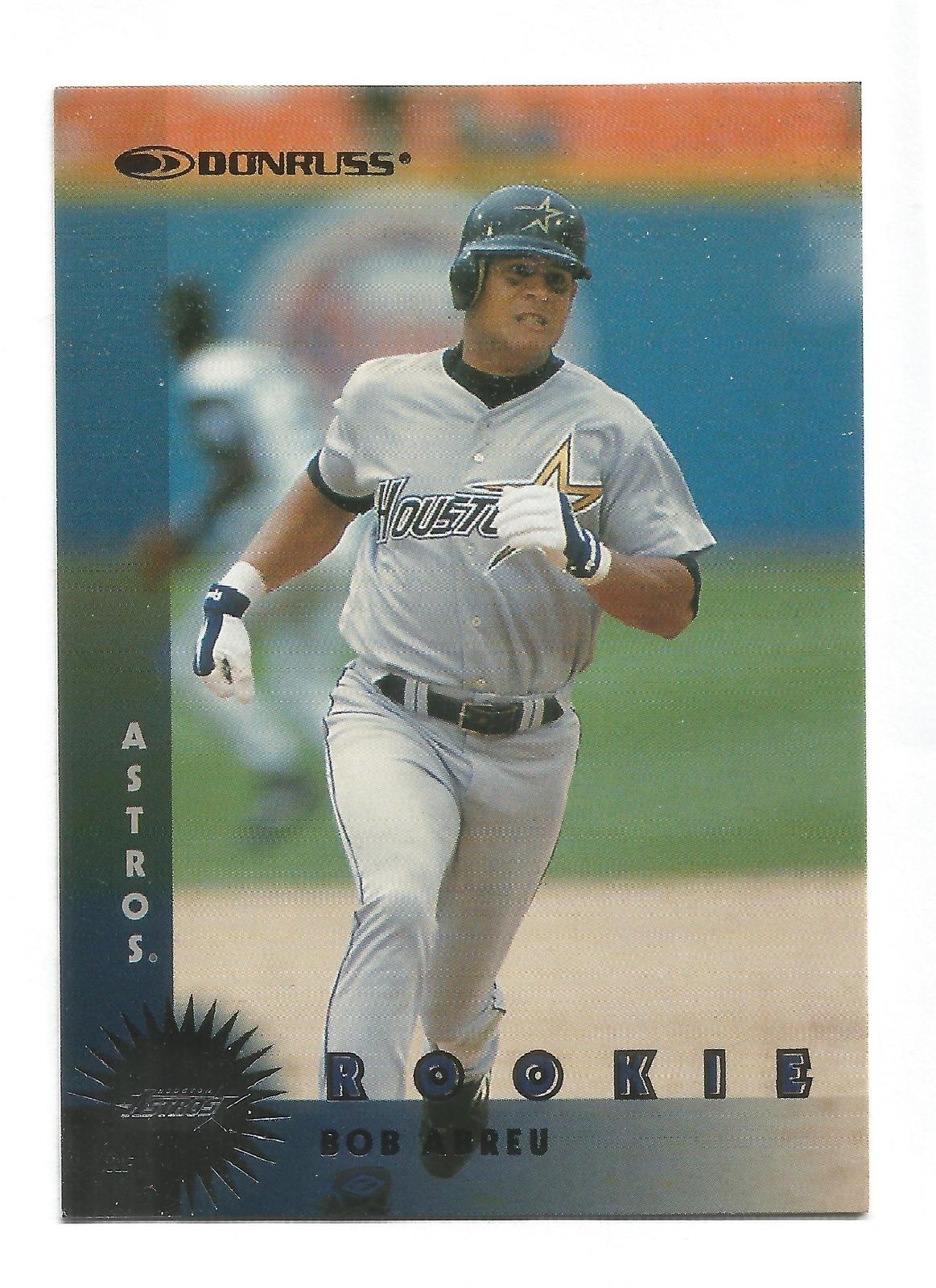 Bobby Abreu 1997 Donruss Rookie Card #353 Houston Astros Free Shipping